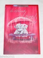 GIRLFRIEND VALENTINE CARD ME TO YOU TATTY TEDDY VALENTINES DAY CARD
