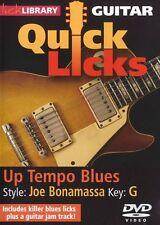 Fare clic su Libreria imparare a giocare rapidamente anche gli integrativi Joe BONAMASSA fino RITMO Blues Guitar DVD