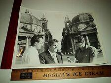 Rare Original VTG Actor and Director Riccardo Fellini, brother of Federico Photo
