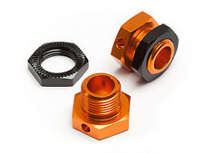 HPI TROPHY 4.6 TRUGGY 2.4 GHz 101785 5MM HEX WHEEL ADAPTERS TROPHY BUGGY ORANGE/