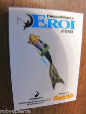 Esselunga figurine dreamworks EROI adesivo sticker DWK01 sharke tale sharketale