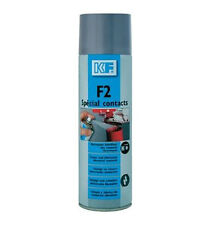 Aérosol KF F2 spécial contact 500 millilitres net 650 Brut nettoyant