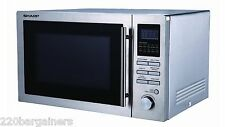 Sharp R84AO 220-240 Volt 25L Microwave Convection Oven Grill 220v 240v 50Hz