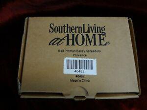 Southern Living - Gail Pittman - Sassy SPREADERS - Provence Polka Dot