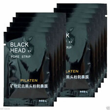 3 x Charcoal Activated Black Face Mask Blackhead Mask Remover Peel-Off Facial UK