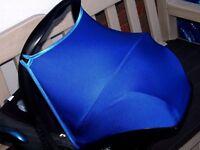 maxi cosi cabriofix pebble/universal car seat hood canopy sun shade many colours
