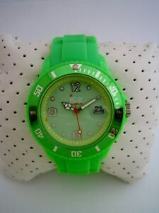 ICE WATCH SILI FOREVER WATCH SI.GN.U.S.09 GREEN FLURO SILICONE CERAMIC GENUINE