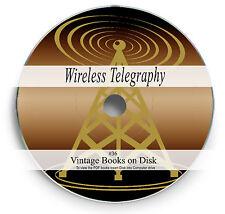RARE BOOKS ON DVD WIRELESS TELEGRAPHY RADIO TELEPHONY RADIOTELEGRAPHY MARCONI 36
