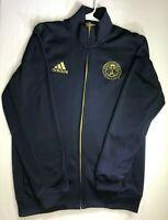 Men's ADIDAS Full Zip Philadelphia Union Blue Gold Track Jacket Size L Large
