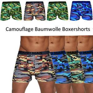 33er Pack Herren Boxershorts Unterhosen Carmouflage Army Baumwolle Slip Gr. L
