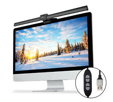 Upgrade USB Screenbar E-reading Lamp Dimmable Computer Monitor Eye Care Light