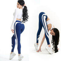 HK- Women Yoga Workout Gym Leggings Fitness Running Sports Pants Stretch Trouser