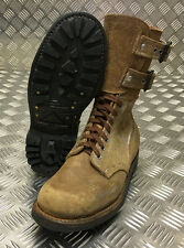 Genuine French Foreign Legion Brown Leather / Suede Army Boots Size 40 NEW FB016
