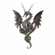 Alchemy of England Blast Furnace Behemoth Pendant Jewelry Women Dragon Necklace