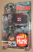 Resident Evil Hunk Figure Moby Dick Series 11 with Nemesis Type 3 Part