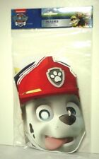 Paw Patrol 8 Masks Birthday Party Supplies Favors Treats ~ 6 Available