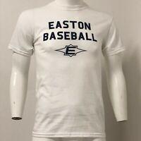 New Easton Mens Linear Logo T-Shirt POWER BY EASTON