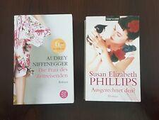 2 Romane: Die Frau des Zeitreisenden + Ausgerechnet den? Top Zustand !!