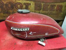 Kawasaki KZ400 Gas Tank  KZ 400  Fuel  Vintage Cafe Custom