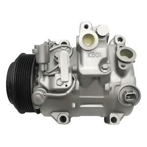 Reman AC Compressor AEG321 Fits Toyota RAV4 2006 2007 2008 2009 2010 2011 2012