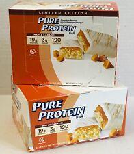 12 p. Pure Protein Bars with Yogurt Coating Style Coating Maple Caramel 2boxes