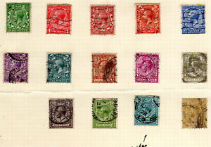 KGV GB KGV from collection page-quite a few look block cupher   [GB030821]