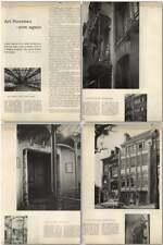 1957 Art Nouveau New Innovations Victor Horta