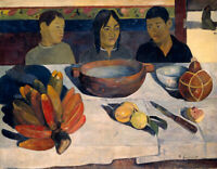 The Black Pigs Paul Gauguin Wall Art Painting Giclee Decor Print on Canvas Small