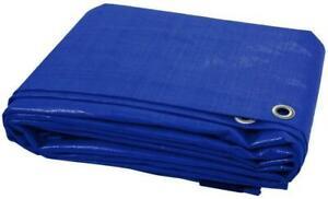 12 Sizes Of Heavy Duty Tarpaulin Waterproof Cover Tarp Ground Camping Sheet
