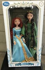 DISNEY BRAVE LIMITED EDITION MERIDA AND QUEEN ELINOR DOLL SET New