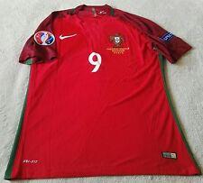 Portugal Eder 9 euro 2016 final coinciden 10/07/16 Jersey, para hombre XL