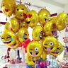 2Pcs 11'' Expression Birthday Balloons Aluminum Balloons Party Supplies Decor
