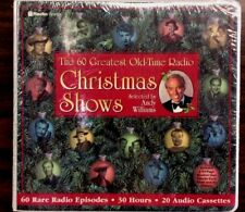 the 60 greatest old time radio christmas shows on 20 cassettes - Old Time Radio Christmas
