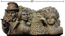 Proud American Icon Garden Statue - Rosie Riveter, Bald Eagle, Statue of Liberty
