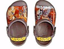 Crocs Star Wars  The Force Awakens  Black Summer Crocs - Little Boys Size 10/11