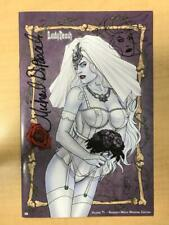 Lady Death #1 NAUGHTY White Wedding AP Sketch Remarked Variant Michael DiPascale