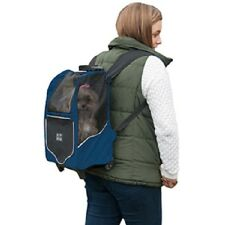 Pet Gear I-GO2 Sport Dog Cat Carrier Backpack Roller Tote Car Seat Blue NEW