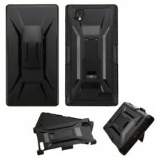 Fundas y carcasas color principal negro plástico para teléfonos móviles y PDAs ZTE