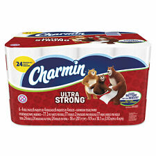 24 Regular Toilet Paper Roll, Charmin Ultra Strong