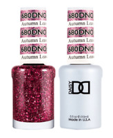 Daisy DND Duo GEL + MATCHING Nail Polish 680 Autumn Leaves