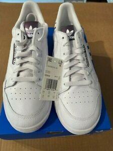 Adidas Continental 80 - FZ0032 White/Black Size 10 - New With Box