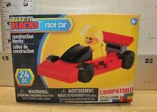 Creative Kids Make-It Blocks Race Car 24 Pc New