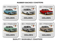 HOLDEN  63' 64'   EH  PREMIER  SEDAN   179    SET OF  6   RUBBER DRINK  COASTERS