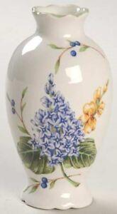 Princess House Garden Pretty Mini Bud Vase HTF Vintage