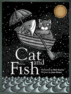 CAT AND FISH, NEIL CURTIS AND JOAN GRANT, AS NEW.