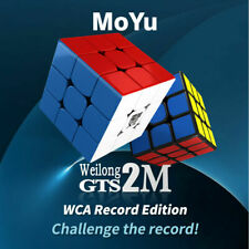 New Moyu WeiLong GTS2M 3x3 Magnetic Magic Cube Puzzle Toys Multi-Color WCA 3.47s