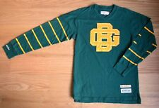 Green Bay Packers Mitchell & Ness Throwback Lombardi Logo Long Sleeve Shirt Med