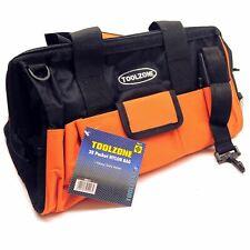 Canvas Tool Bag Box 28 Storage Pocket Nylon Tool Roll Pouch Holder TE190