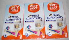 Lot de 3 Fois 2 Mites Alimentaire ZEN'SECT 0% Insecticide neuf dans l'emballage