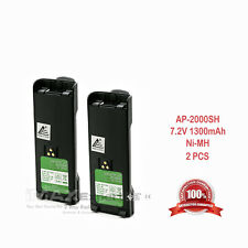 2 x 1300mAh NI-MH NTN7143 7144 Battery for MOTOROLA HT1000 HT6000 MT2000 MTS2000